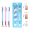 Glitter Powder Nail Art Sponge Nail Brush Gradient Painting Pen