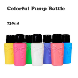 Nail Art Pressure Bottle UV Gel Polish Remove Pump Bottle
