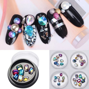 Rhinestones Crystal Diamond Stones Nail Jewelry Nail Art Decorations Accessoires