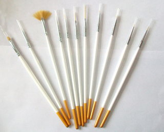 Nail Art Painting Brush and Gel Brush Set for Gel Nail