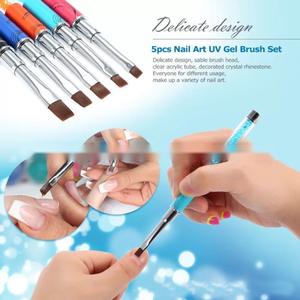 Dotting Nail Art UV Gel Brush Acrylic Nail Brush