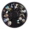 Mixed Shapes Super Shine Diamonds for Nail Art Decorations Accessories