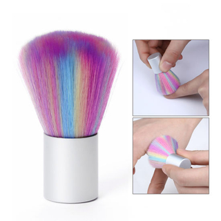 Manicure Pedicure Soft Remove Dust Clean Brush for Nail Care