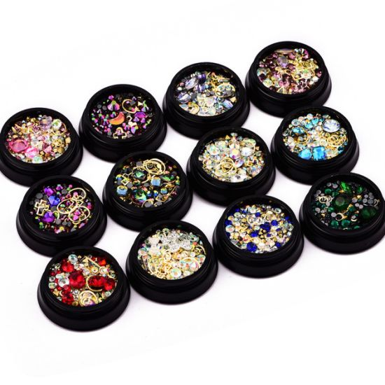 Flat Back Rhinestones Crystal Stones Diamonds for Nail Art Decoration
