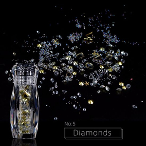 Nail Art Strass Stone Mixed Diamond Decoration Manicure