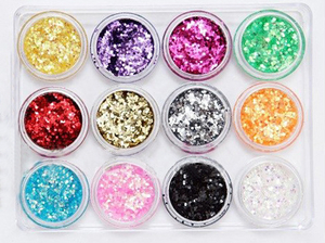 Nail Decoration Nail Art Spangle Set