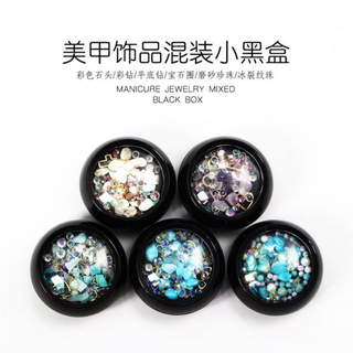 Mixed Colorful Rhinestones Nails Jewelry Crystal Stones for Nail Art