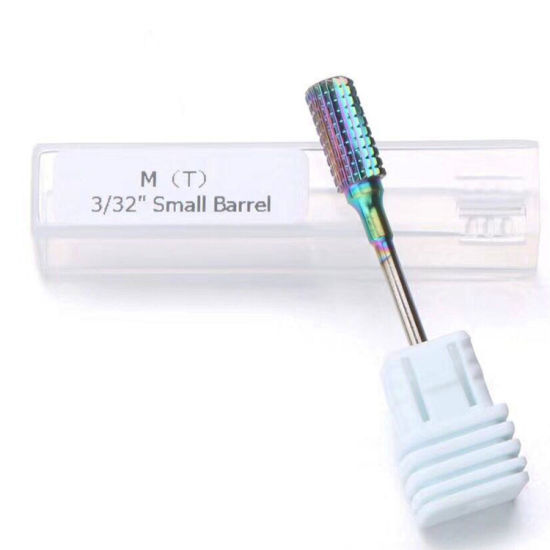 Colorful Burr Nail Drill Bit Manicure Nail Art Tool Accessories