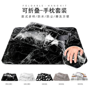 Detachable Pad Cushion Nail Art Soft Pillow Arm Rest Set