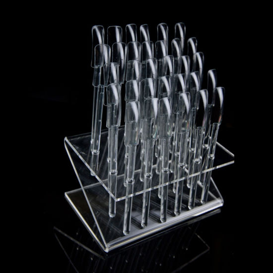 Sticks Nail Art Display Stand Practice Tool Tips Rack