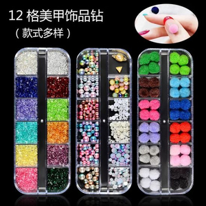 New Multi-Size Nail Rhinestones 3D Decorations Nail Art Decorations