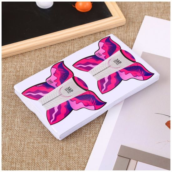 Self-Adhesive Nail Forms for Nail Tips Extension Butterfly Stickers New